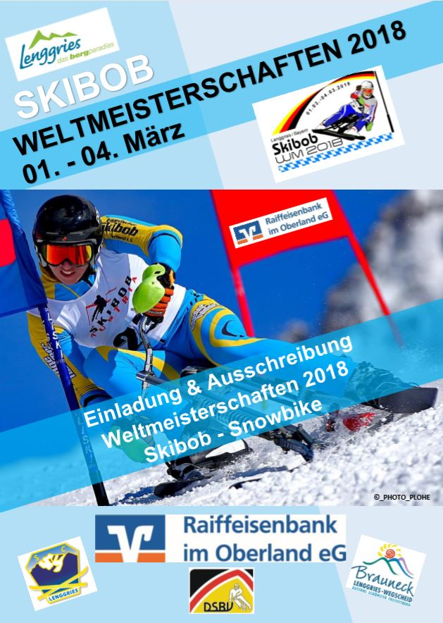 Skibob Weltmeisterschaften 2018 - Lenggries